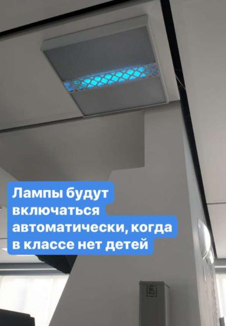 В школах Мурманской области планируют установить противоковидные лампы