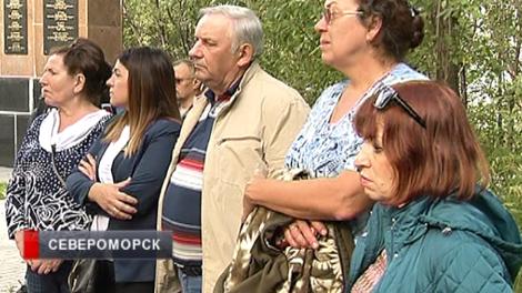 Родственники погибшего в годы войны летчика побывали на месте гибели самолета