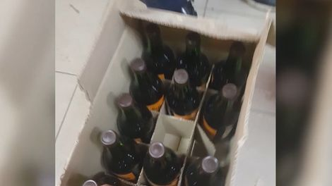 В Мурманске продавали вино, портвейн и элитный коньяк без документов и лицензии