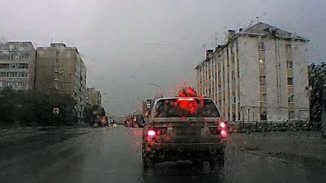 В Мурманске полицейские устроили погоню за пьяным водителем